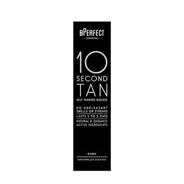 B Perfect 10 SECOND TAN MOUSSE DARK WATERMELLON SCENTED 200ML