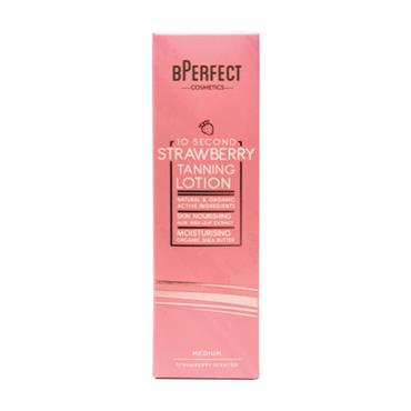 B Perfect 10 Second Tan Medium Strawberry Lotion 200ml