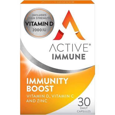 ACTIVE IMMUNE IMMUNITY BOOST CASPULES 30