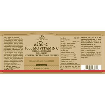 Solgar Ester-C® 1000 mg Vitamin C 90