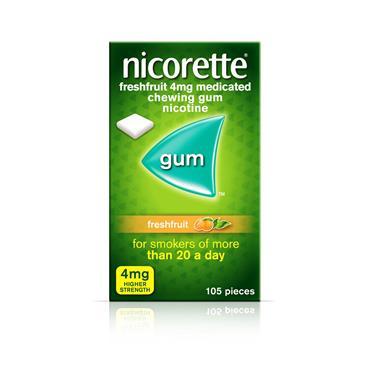 Nicorette Freshfruit Gum 4mg 105