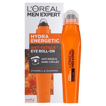 L'Oreal Men Expert Hydra Energetic Anti-Fatigue Eye Roll-On 10ml