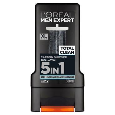 L'Oreal Men Expert Total Clean Shower Gel 300ml