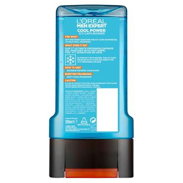 L'Oreal Men Expert Cool Power Shower Gel 300ml