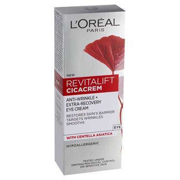 L'Oreal Paris Revitalift Cica Anti Wrinkle Recovery Eye Cream 15ml