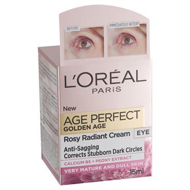 L'Oreal Paris Age Perfect Golden Age Rosy Radiant Eye Cream 15ml