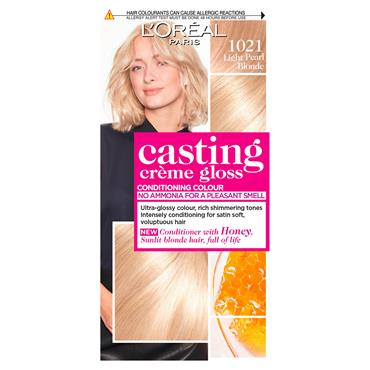 L'Oreal Casting Creme Gloss 1021 Light Pearl Blonde Semi Permanent Hair Dye