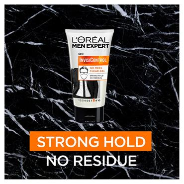 L'Oreal Men Expert Invisicontrol Neat look clear gel strong hold 150ml