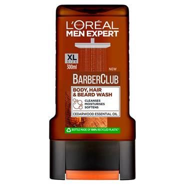 L'Oreal Shower Gel Barber Club Face, Beard & Body