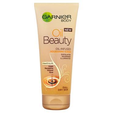 Garnier Oil Beauty Body Scrub Dry Skin 200ml
