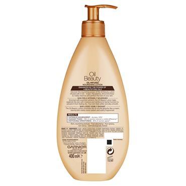 Garnier Oil Beauty Body Lotion Dry Skin 400ml