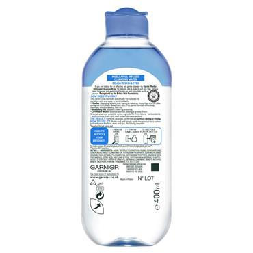 Garnier Micellar Water Delicate Skin and Eyes 400ml
