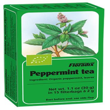 FLORADIX Organic Peppermint Tea 15 Teabags