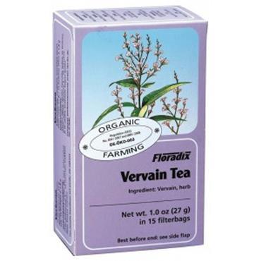FLORADIX Organic Vervain Tea 15 Teabags