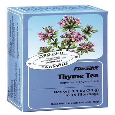 FLORADIX  Organic Thyme Tea 15 Teabags