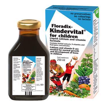 FLORADIX Kindervital Liquid Formula 250ml