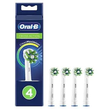 Oral B Cross Action Replacement Heads 4 pack
