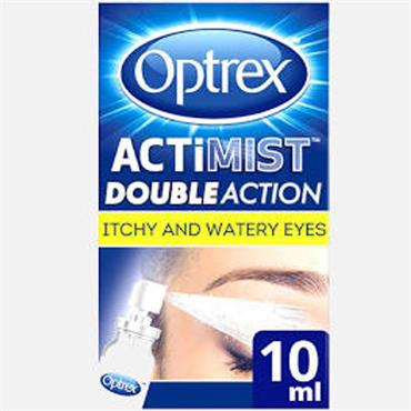 optrex Actimist 2in1 Itchy & Watery Eye Spray 10ml
