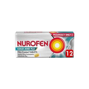 nurofen Cold & Flu 12's