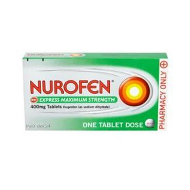 nurofen Express 400mg Maximum Strength Tablets 24's