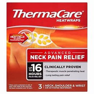 THERMACARE NECK HEAT WRAPS 3