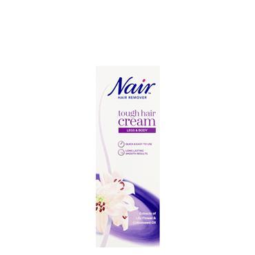 NAIR TOUGH HAIR CREAM LEGS & BODY 200ML