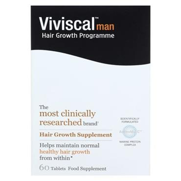 VIVISCAL MAN HAIR GROWTH PROGRAMME TABLETS 60s