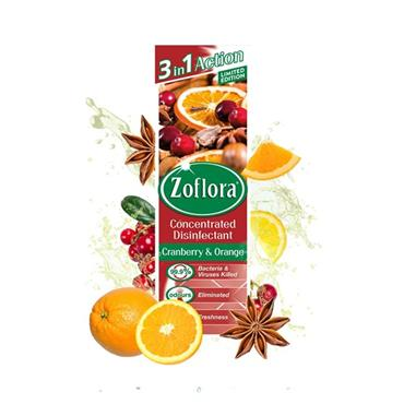 ZOFLORA CRANBERRY & ORANGE CONCENTRATED DISINFECTANT 120ML