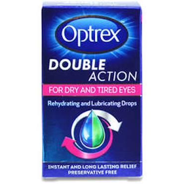 optrex Double Action Drops for Dry Eyes 10ml