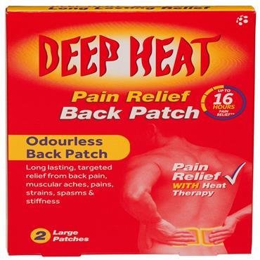 DEEP HEAT PATCH  2 PACK