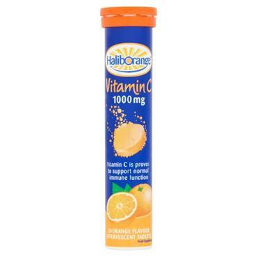 Haliborange Vitamin C 1000mg Effervescent Orange 20s