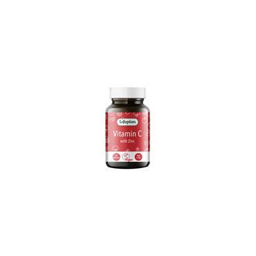 Lifeplan Vitamin C Plus Zinc Lozenges 90s