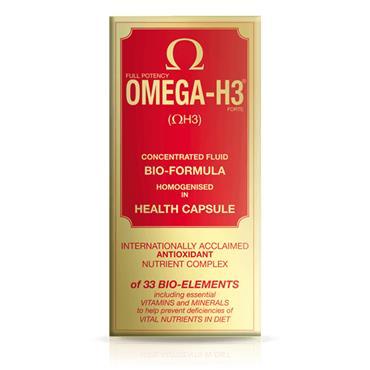 Vitabiotics Omega H3 Caps 30's