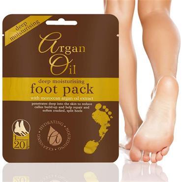 ARGAN OIL DEEP MOISTURISING FOOT PACK 1