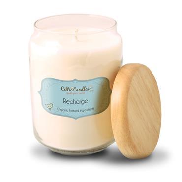 Celtic Cande Recharge candle large pop jar