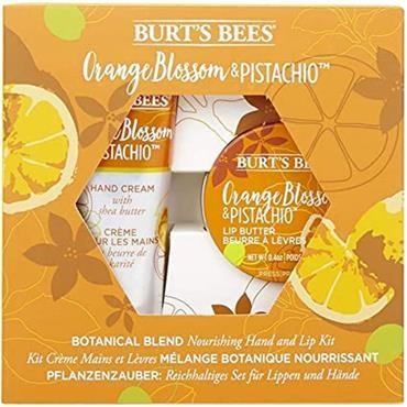 BURTS BEES Orange & Pistachio Lip Butter & Hand Cream