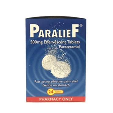 Paralief Effervescent Tablets 24