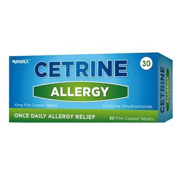 Cetrine Allergy tablets 30s