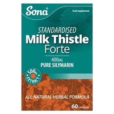 Sona Milk Thistle Forte capsules 30