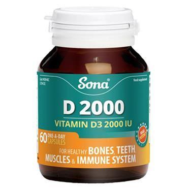 Sona Vitamin D 2000 tablets 60