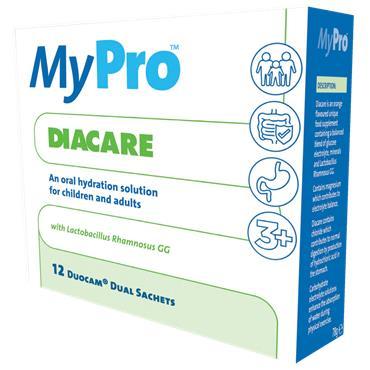 MyPro Diacare Oral Rehydration Sachets 12