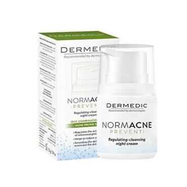 dermedic NORMACNE regulating-cleansing night cream 55g