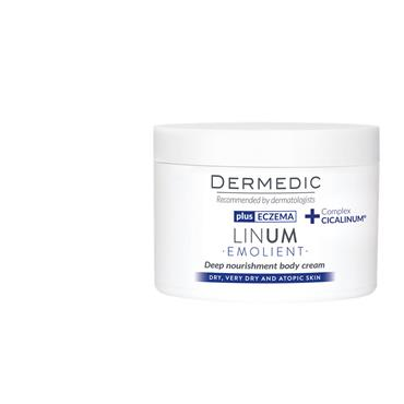 dermedic EMOLIENT LINUM Ultra rich body cream 225ml