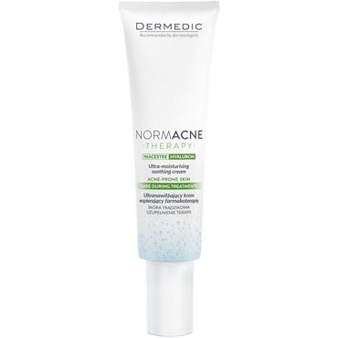NORMACNE Ultra-moisturising cream, care during treatments