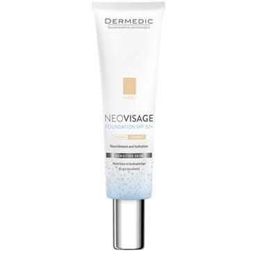 dermedic NEOVISAGE nourishing and moisturizing foundation SPF 50+ IVORY 30ml