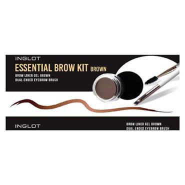 INGLOT ESSENTIAL BROW KIT BROWN