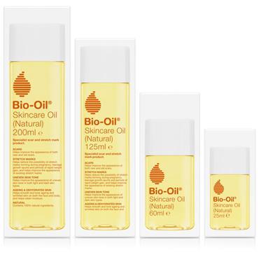 BIO OIL NATURAL SKINCARE OIL 125ML