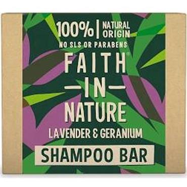 Faith in Nature Shampoo Bar Lavender & Germanium 85g
