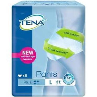 Tena Pants Large 8