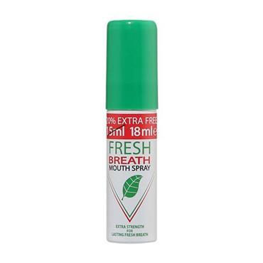 FRESH BREATH SPRAY EXTRA STRENGTH